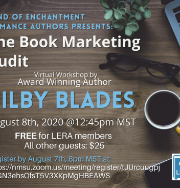 The Book Marketing Audit by Kilby Blades flier